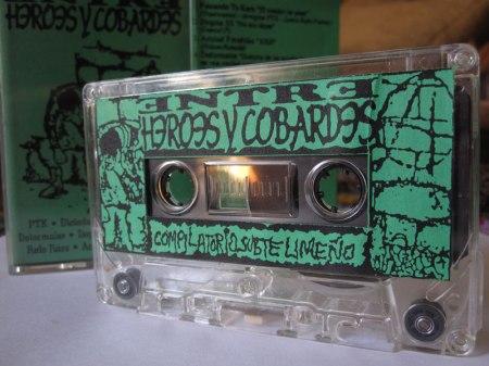 """Recordando por el walkman: """"Entre héroes y cobardes. Compilatorio subte limeño"""" (1995)"""