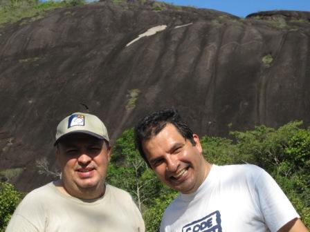 Con Luis Bello