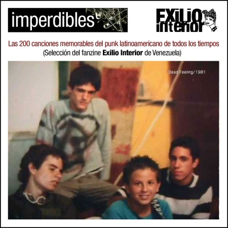 Los 200 mejores temas de punk latinoamericano según Exilio Interior Zine