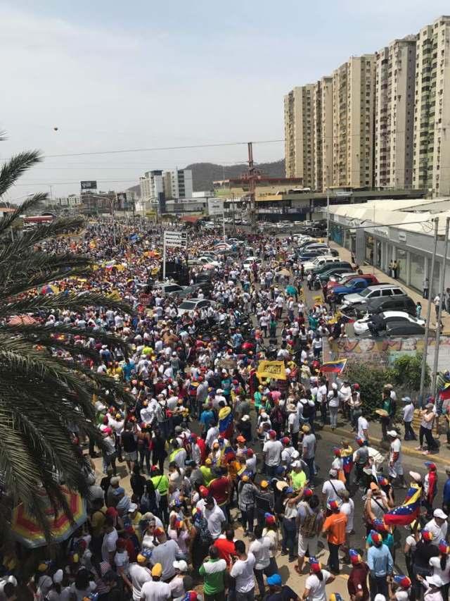 Puerto la cruz Unidad venezuela